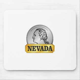 nevada coin mouse pad