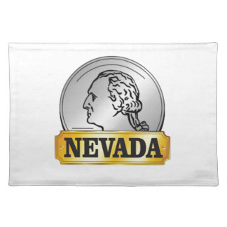 nevada coin placemat