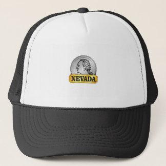 nevada coin trucker hat