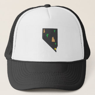 Nevada Desert Trucker Hat