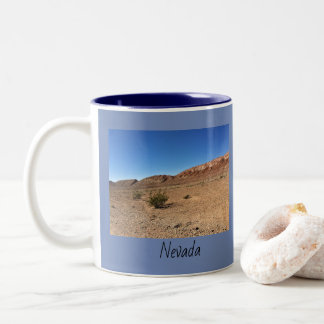 Nevada Desert Two-Tone Coffee Mug
