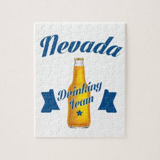 Nevada Drinking team Jigsaw Puzzle