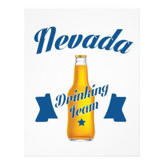 Nevada Drinking team Letterhead Design