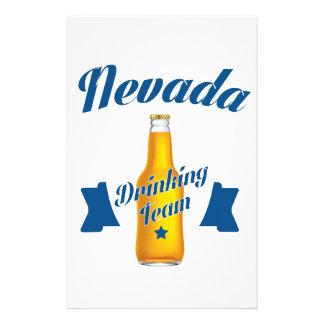Nevada Drinking team Stationery