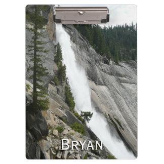 Nevada Falls at Yosemite National Park Clipboard