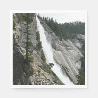 Nevada Falls at Yosemite National Park Napkin