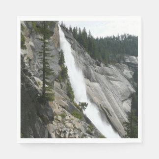 Nevada Falls at Yosemite National Park Paper Napkin