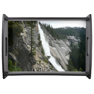 Nevada Falls at Yosemite National Park Serving Tray