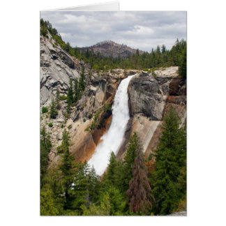 Nevada Falls (Custom Message) Card