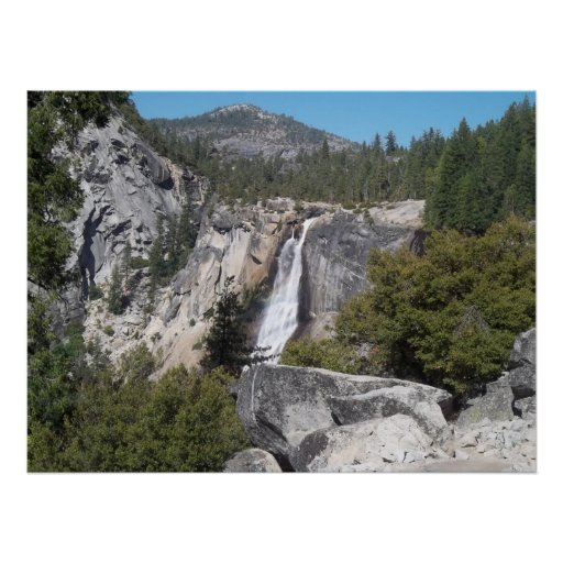Nevada Falls In Yosemite Poster