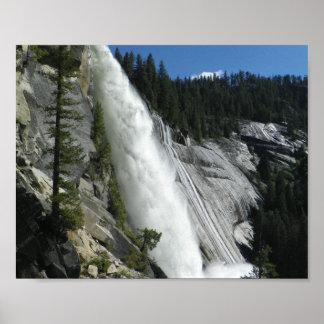 Nevada Falls in Yosemite Valley Print