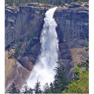 Nevada Falls Yosemite National Park Standing Photo Sculpture