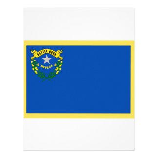 Nevada Flag Customized Letterhead