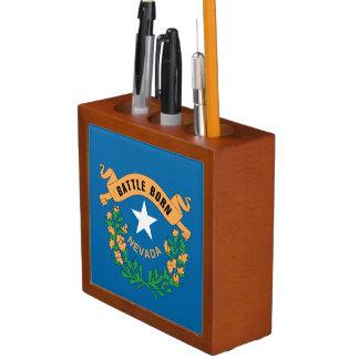 NEVADA FLAG DESK ORGANIZERS
