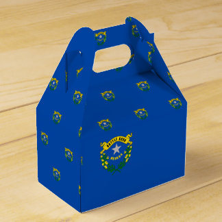 Nevada Flag Favor Box