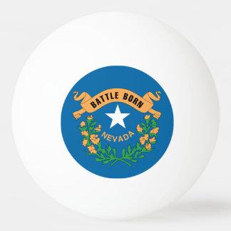 NEVADA FLAG PING PONG BALL
