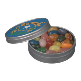 NEVADA FLAG JELLY BELLY CANDY TIN