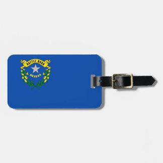 Nevada Flag Luggage Tag