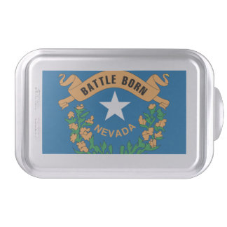 NEVADA FLAG CAKE PAN