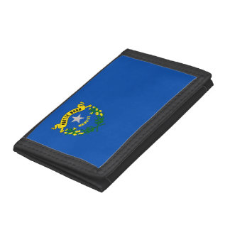 Nevada Flag Trifold Wallet
