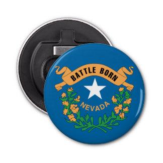 NEVADA FLAG BUTTON BOTTLE OPENER