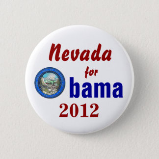 Nevada for Obama 2012 2 Inch Round Button