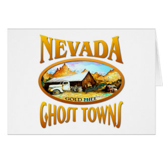 Nevada Ghost Town Card