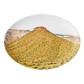 Nevada Gold Hill Porcelain Platter