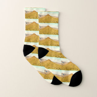Nevada Golden Mountain Unisex Socks 1