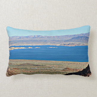 Nevada Hoover Dam Lumbar Pillow