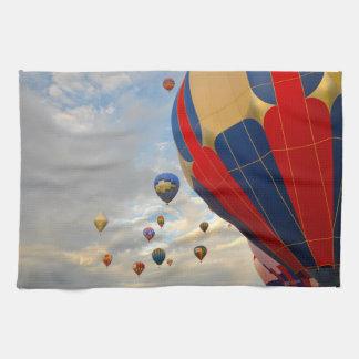 Nevada Hot Air Balloon Races Hand Towel
