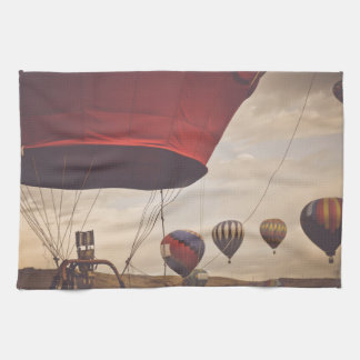 Nevada Hot Air Balloon Races Hand Towel