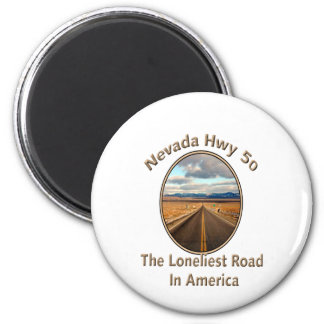 Nevada Hwy 50 Magnet
