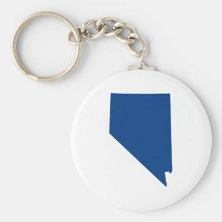 Nevada in Blue Keychain