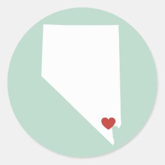Nevada Love - Customizable Sticker