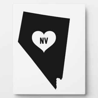 Nevada Love Plaque