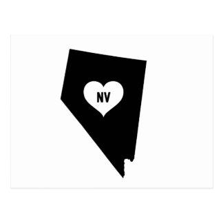 Nevada Love Postcard