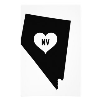 Nevada Love Stationery
