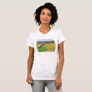 Nevada Mountain Bluebird Womens Christian T-Shirt