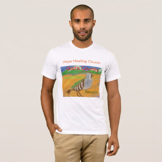 Nevada Mountain Qauil Bird Christian T-Shirt