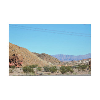 Nevada Mountains Canvas Print