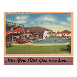 Nevada, Nevada Biltmore Hotel, Las Vegas Postcard