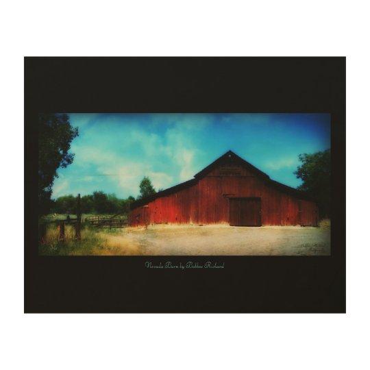Nevada Ol Red Barn Wood Wall Decor