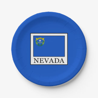 Nevada Paper Plate