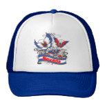 Nevada Patriotism Butterfly Trucker Hats