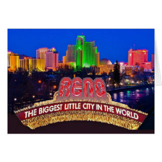 NEVADA Reno Card