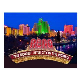 NEVADA Reno Postcard