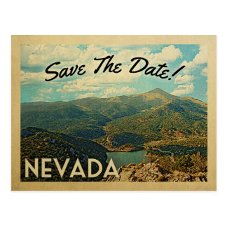 Nevada Save The Date Vintage Postcards
