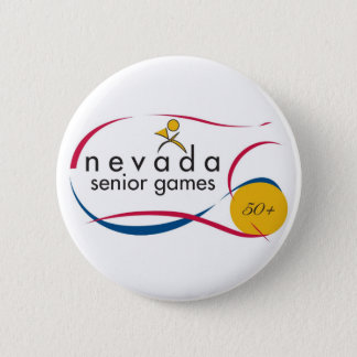 NEVADA SENIOR GAMES LOGOS ON EVERYTHING 2 INCH ROUND BUTTON