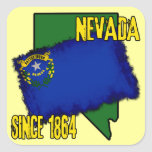 Nevada, Since 1864 Stickers